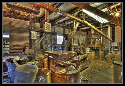 mill nc corn northcarolina historic grits gristmill photomatix oldmills oldmillofguilford guilfordmill topazdetail