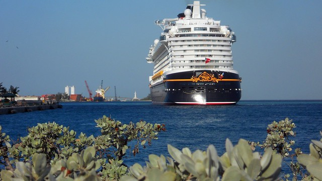 Disney Dream cruise ship in the Bahamas