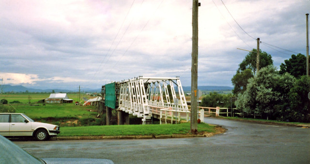 Morpeth Australia  city pictures gallery : Morpeth Bridge, Morpeth, NSW, Australia, 14th April, 1990. | Flickr ...