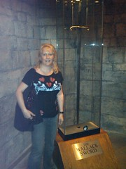 Catherine and the sword of William Wallace