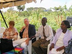 Tom & Heidi Buchan; Frdrick & Dorcas Makhanu