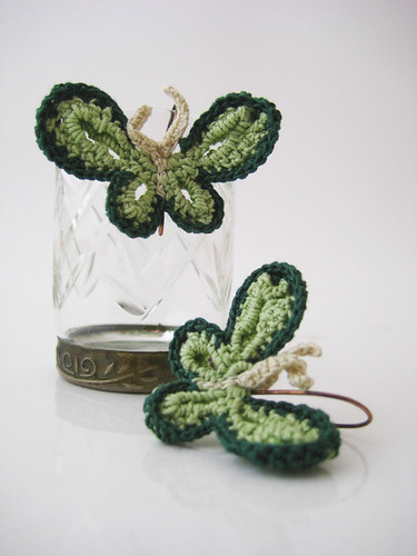 Little butterfly earrings
