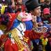 Danzante - Dancer en la Fiesta del pueblo; Joyabaj, El Quiché, Guatemala