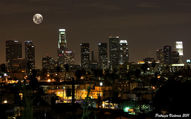 Full Moon Los Angeles