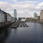 Dublin City - Grand Canal Dock Railway Station And Surrounding Area