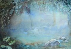 Watercolour. Size: 26 x 18 cm. Sold.</p><p>Alkuperäinen maalaus, josta tehtiin korttipainatus. Vesiväri. Koko: 26 x 18 cm. Myyty.