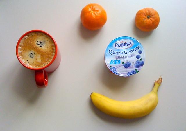 Clementinen, Banane & Quark Genuss