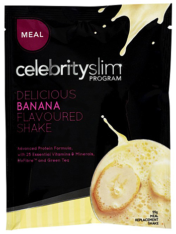 Celebrity Slim milkshake