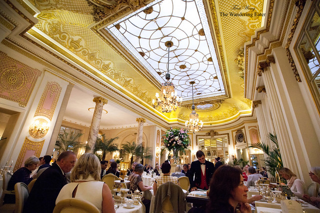The Palm Court is gorgeous (and legendary)