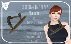 Kitty's Claws: Drifting in the Sea Necklace