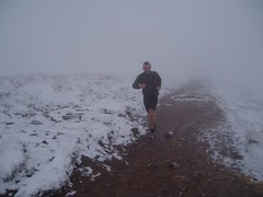 Kev Running in the snow Image