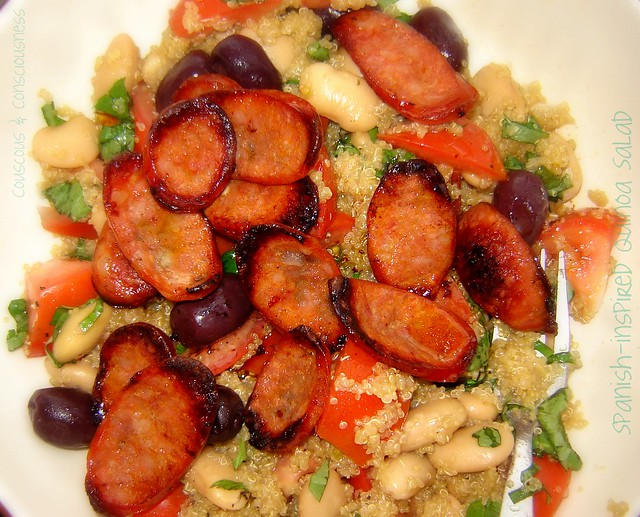 Spanish-inspired Quinoa Salad 3 | Flickr - Photo Sharing!