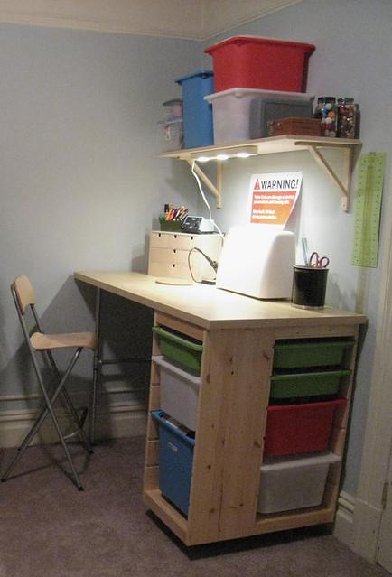 Trofast Craft Desk Flickr Photo Sharing