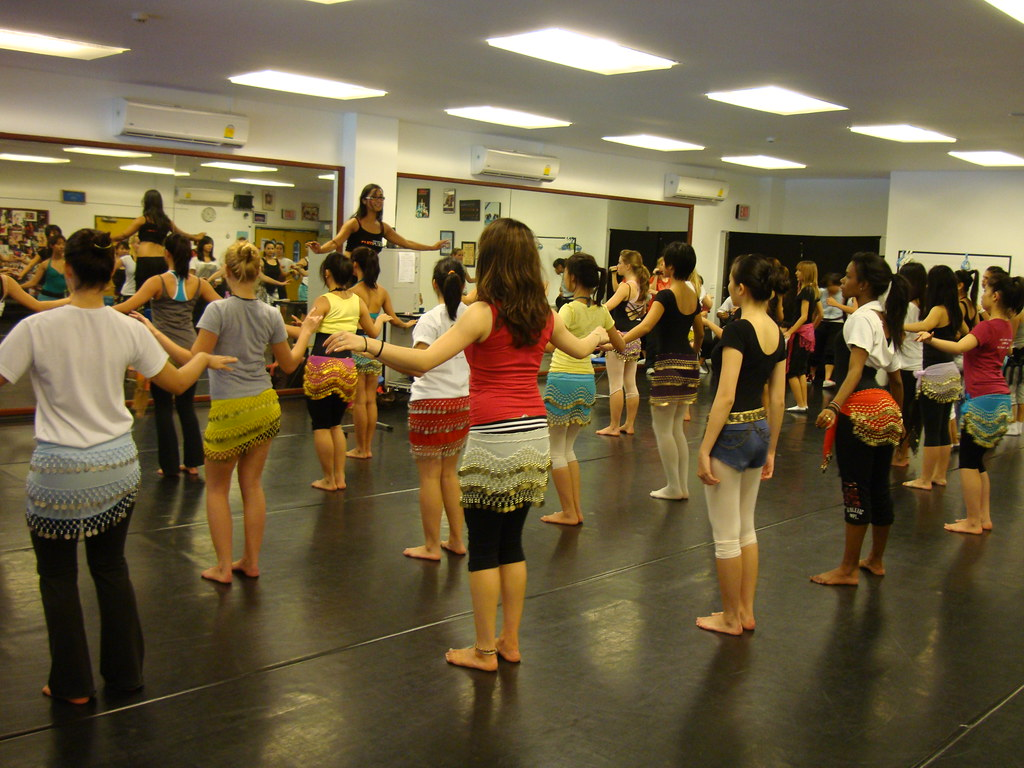 Anasma teaching teens in Bangkok Thailand