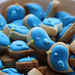 Tiny Bluebird Cookies by Three Ghosts