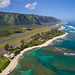 North Shore aerial of Oahu, Hawaii