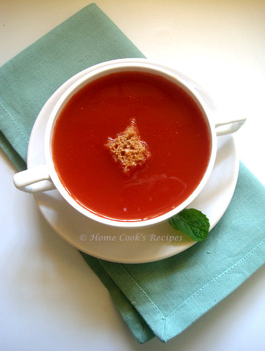 how to make tomato soup at home indian style home