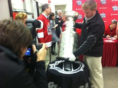 The Stanley Cup is here #SHDiC