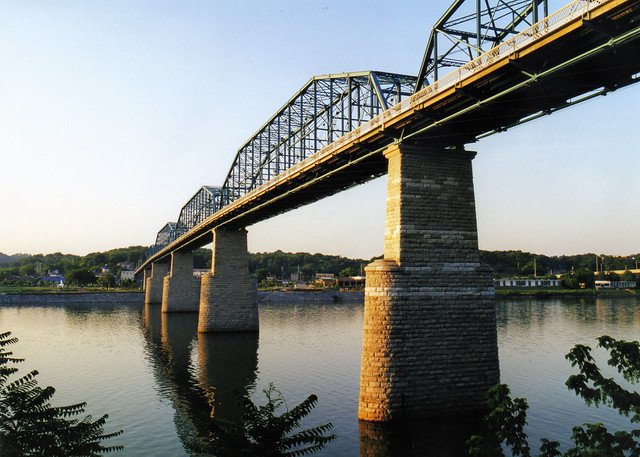 Garden Walk Chattanooga: Walnut Street Bridge, Chattanooga