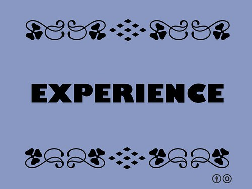 Buzzword Bingo: Experience