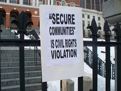 Secure Communities Law Protest-Boston, Mass. Feb. 12, 2011