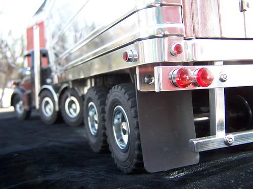 Custom Wyandotte Semi Truck