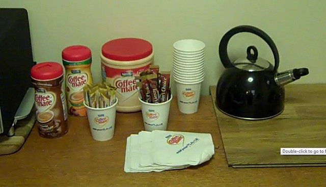 Coffee station set up flickr photo sharing for How to set up a coffee station