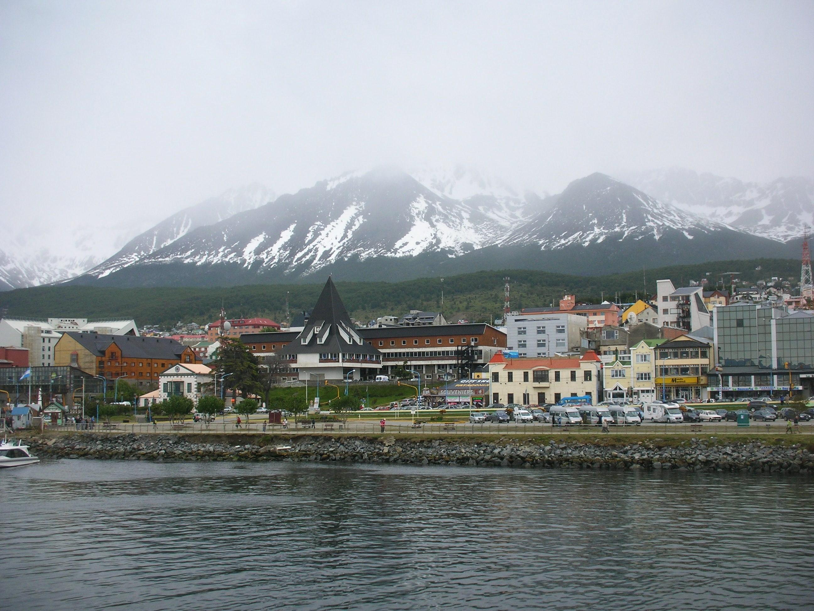 Ushuaia ciudad, Tierra del Fuego Argentina