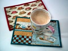 Mug Rugs are Delightful by quilterinagarden