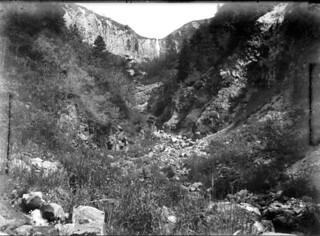 Cascade, Mont-Dore, juillet 1903