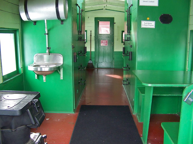 Railroad Caboose Interior http://www.flickr.com/photos/piedmont_fossil/5495394523/