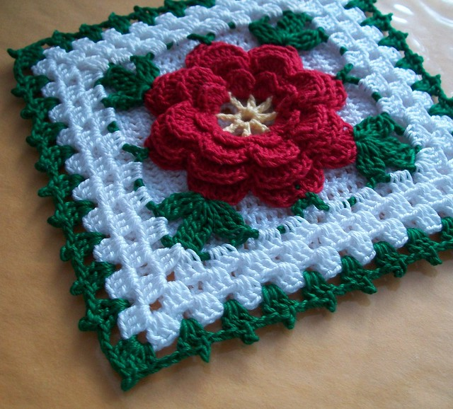 Crochet Patterns Potholders : MAGIC SQUARE CROCHET POTHOLDER PATTERN - Easy Crochet Patterns