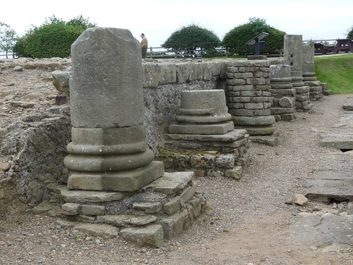 Columns of Porticoes, Corbridge Roman Site