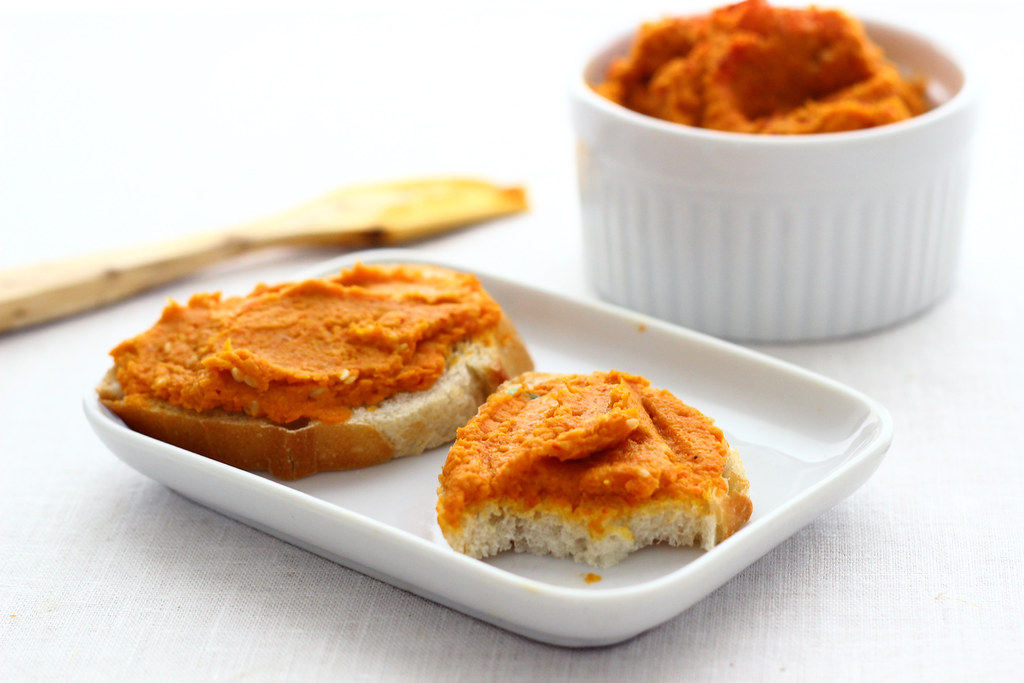Smoky Carrot Hummus