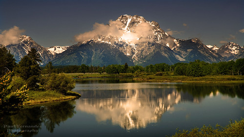 Mt. Moran Reflected on the Snake River at Grand Teton National Park