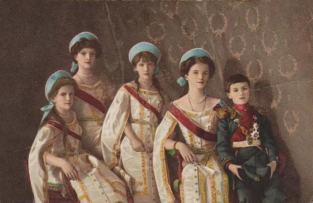 Russia. Imperator Nicolas II kids