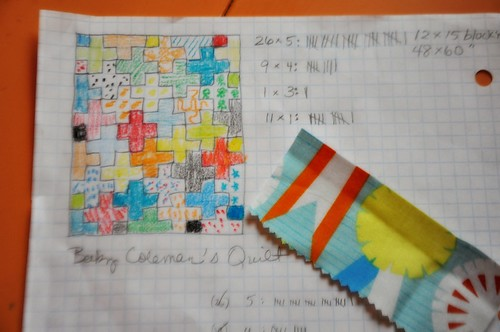 Plus Quilt II: Layout and Numbers