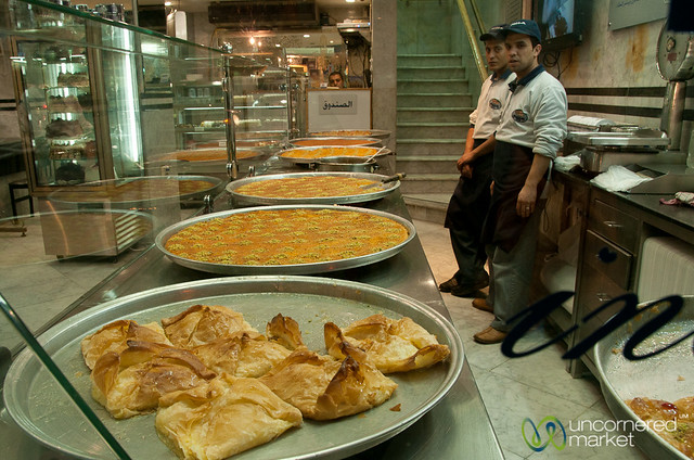 Sweets Shop in Amman, Jordan