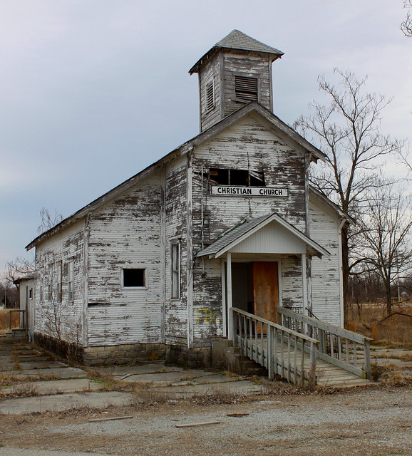 Picher, Oklahoma - Abandoned Christian Church