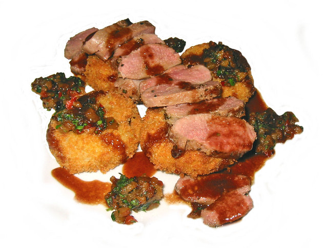 Marinated Duck Breast With Sauteed Potatoes Recipes — Dishmaps