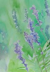 Watercolour. Size: 18 x 26 cm. Sold.</p> <p>Alkuperäinen maalaus, josta tehtiin korttipainatus. Vesiväri. Koko: 18 x 26 cm. Myyty.
