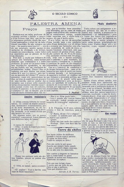 O Século Cómico, Nº 1147, Dezembro 8 1919 - 1