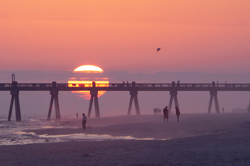 Evening at the Pensacola Pier