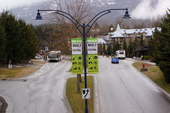 Entrance to Whistler - World Ski and Snowboard Festival
