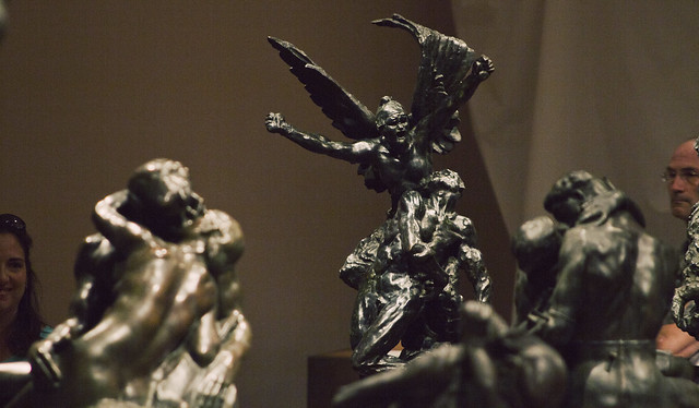 Rodin scultpures at Peabody Essex Museum; Salem, MA (2016)