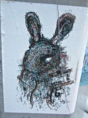 Rabbit Sticker, New York, NY