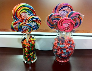 WhirlyPop Table Centerpieces