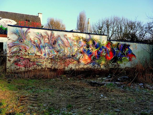 graffiti | doel . belgium