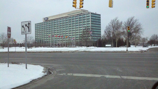 Ford Motor Company World Headquarters Before The Predicted