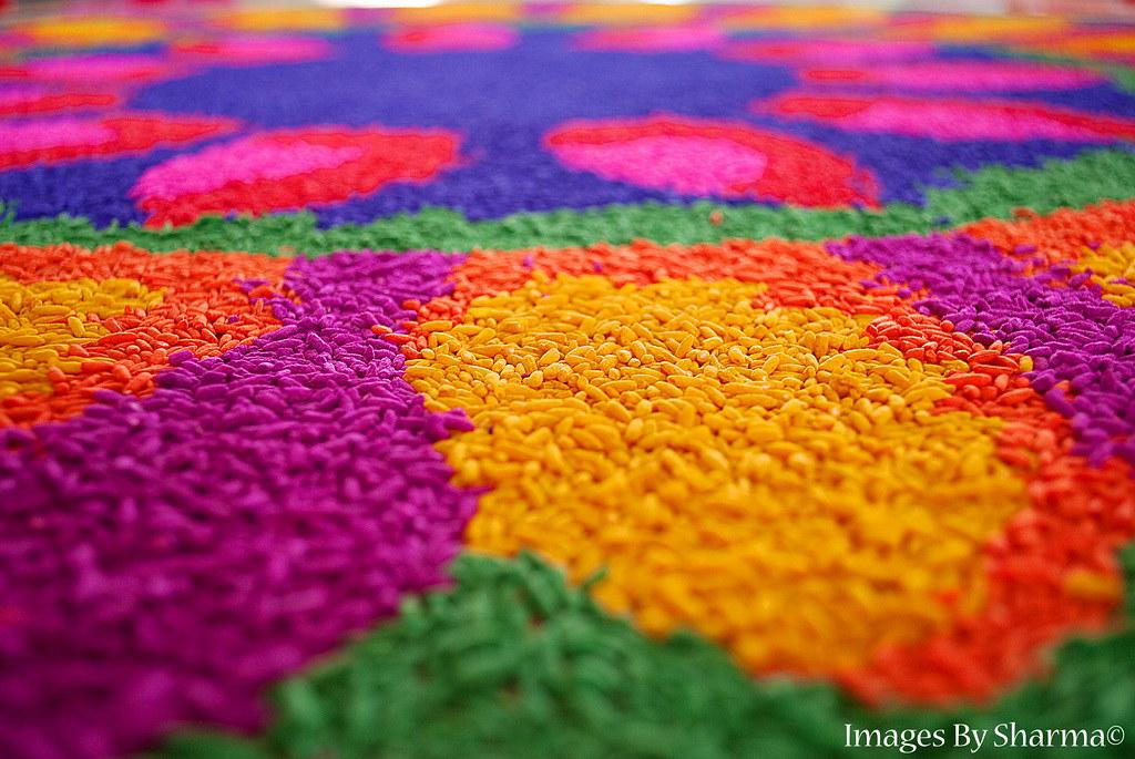 Colours of a Kolam by Sharma D. Pillai